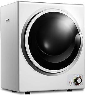 TANGKULA Secadora de Ropa Eléctrica Dryer de Acero Inoxidab