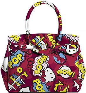 7bafbe75 SAVE MY BAG - Bolso al hombro para mujer Rojo rojo 39x34x19cm