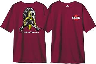 Blind Skateboards Gonz Skull And Banana Vintage Burgundy Men's Short Sleeve T-Shirt - Small