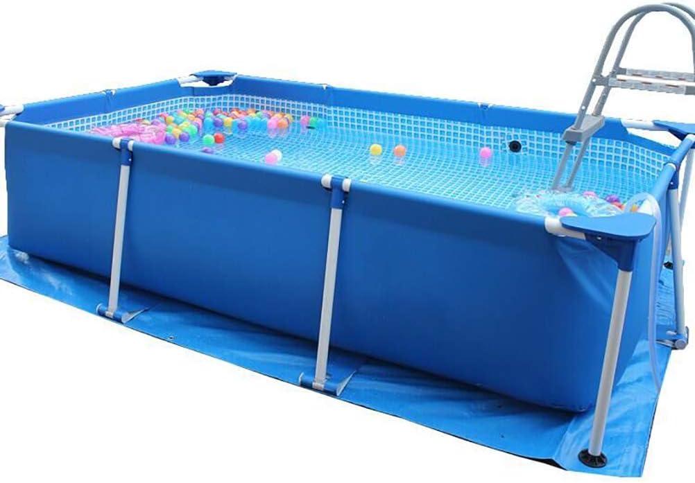 Rectangular Metal Frame Swimming Pool Portable Above Ground Easy Set Pool,Bracket Swimming Pool Super Large Children Adult