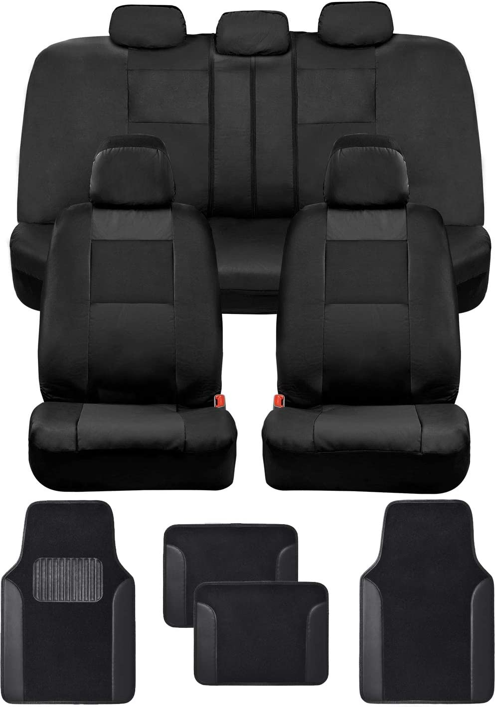 BDK Croc Skin Ranking TOP5 Faux Leather Car Covers Carpet Max 74% OFF Seat Full Set with