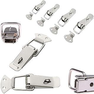4x Spannverschluss Edelstahl, ideal als Kistenverschluss Klappverschluss –..