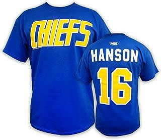 Hanson Brothers Slap Shot Movie Officially Licensed t-Shirt #16 Hanson Charlestown Chiefs