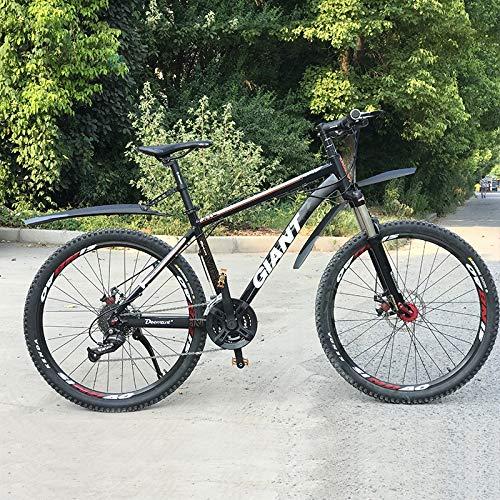 ZIJ 1 par nuevo guardabarros de bicicleta montaña 26 27.5 29 pulgadas bici fango alas delantera/trasera Fender montaje rápido 27.2-34.9mm tija