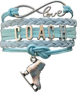 Skating Coach Gift, Figure Skating Jewelry- Coach Bracelet- Figure Skating Bracelet - Perfect Figure Skating Coach Gifts