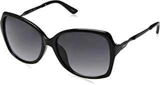 Jessica Simpson Women's J5716 Over-Sized Rectangular Sunglasses with 100% UV Protection, 70 mm