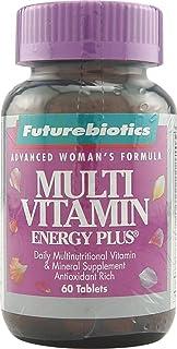 FutureBiotics Advanced Women's Formula, Multi Vitamin Energy Plus, 60 Tablets