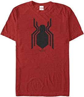 Marvel Men's Spider-Man Homecoming Classic Logo T-Shirt