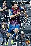 FC Barcelona Lionel Messi Collage 2011 - 2012 Poster