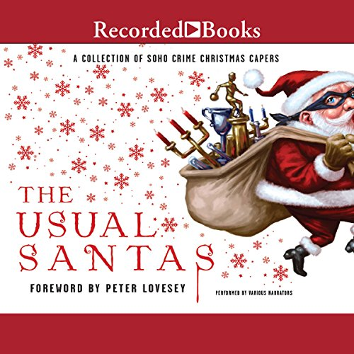 The Usual Santas audiobook cover art