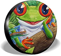 Frog Custom Spare Tire Cover Wheel Tire Cover Fit for All Cars