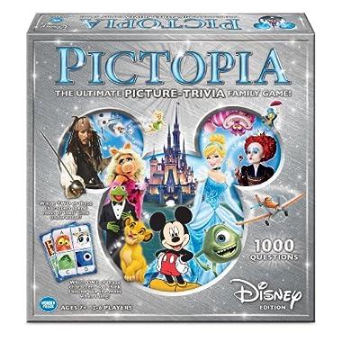 Wonder Forge Pictopia-Family Trivia Game: Disney Edition
