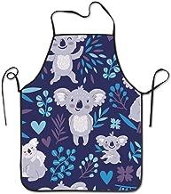 Life department store Cute Koala Bears Animals Wildlife Australia Cooking Apron,BBQ or Kitchen Aprons,Machine Washable,Premium Quality Bib Aprons for Women and Men 20