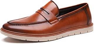 Men's Loafers Casual Driving Shoes Dress Shoes for Men Slip on