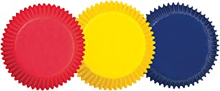 Wilton 415-987 BAKECUPS ASST 75CT, Assorted Primary Colors