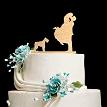 Miniature Schnauzer Topper Miniature Schnauzer Wedding Cake Topper Miniature Schnauzer Cake Topper