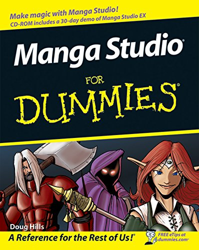 Manga Studio For Dummies (English Edition)