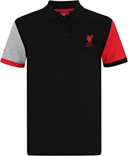 84fe4b55d Liverpool Football Club Official Soccer Gift Mens Crest Polo Shirt