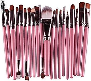 Sungpunet 20 PCS Make Up Set di soffice polvere Fondazione Ombretto Eyeliner Lip spazzole di trucco di bellezza per la cur...
