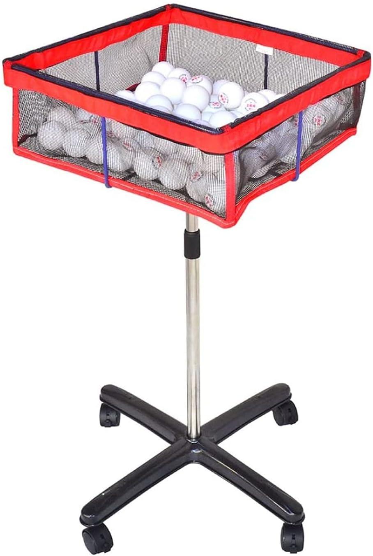 STAND PING PONG BALL COLECTOR, Soporte de almacenamiento de bola múltiple, Tenedor de pelota de tenis ajustable en altura con estuche de malla, coleccionista de pelota de tenis, para pelota de golf
