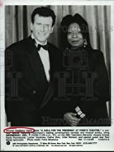 Historic Images - 1994 Press Photo Host Whoopi Goldberg and Paul Reiser, Gala at Ford's Theatre