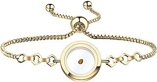 FAADBUK Christian Gift Mustard Seed Bracelet Mustard Seed Necklace Mustard Seed Earrings Religious Inspirational Jewelry f...