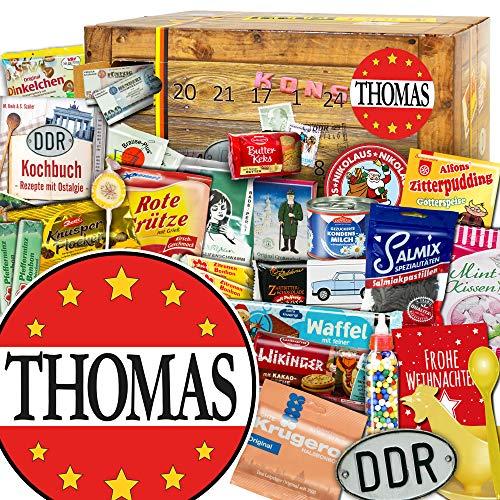 Thomas + Ostalgie Adventskalender + Weihnachtskalender für Männer