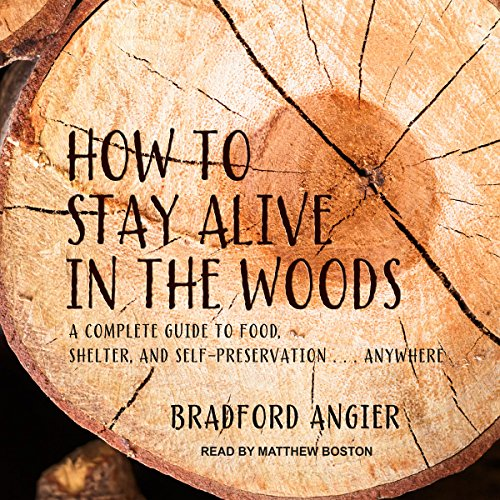 How to Stay Alive in the Woods audiobook cover art