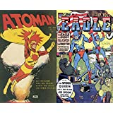 Atom Man and The Eagle Comics. Issues 1 and 3. Features Kid Crusaders, Wild Bill Hickock, Marvin the great, The spider queen, joe spook with Nicky the ... comics superheroes a (English Edition)