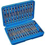 TecTake Juego de puntas largas 51 piezas   de alta calidad de acero al cromo-vanadio   Maletín Consistente Incluido