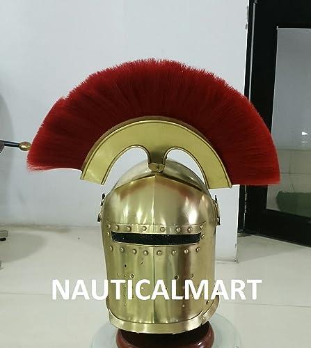 Envío 100% gratuito Renacimiento Nauticalmart Armor Medieval LARP Corinthian Corinthian Corinthian con visera casco de SCA  grandes ofertas