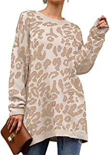 PRETTYGARDEN Women's Casual Leopard Print Long Sleeve...