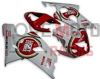 LoveMoto Juegos completos de Tornillos y Tuercas de carenado para GSXR 1000 K3 03 04 GSXR1000 K3 2003 2004 Clips de fijaci/ón y Tornillos de Aluminio Negro Plata