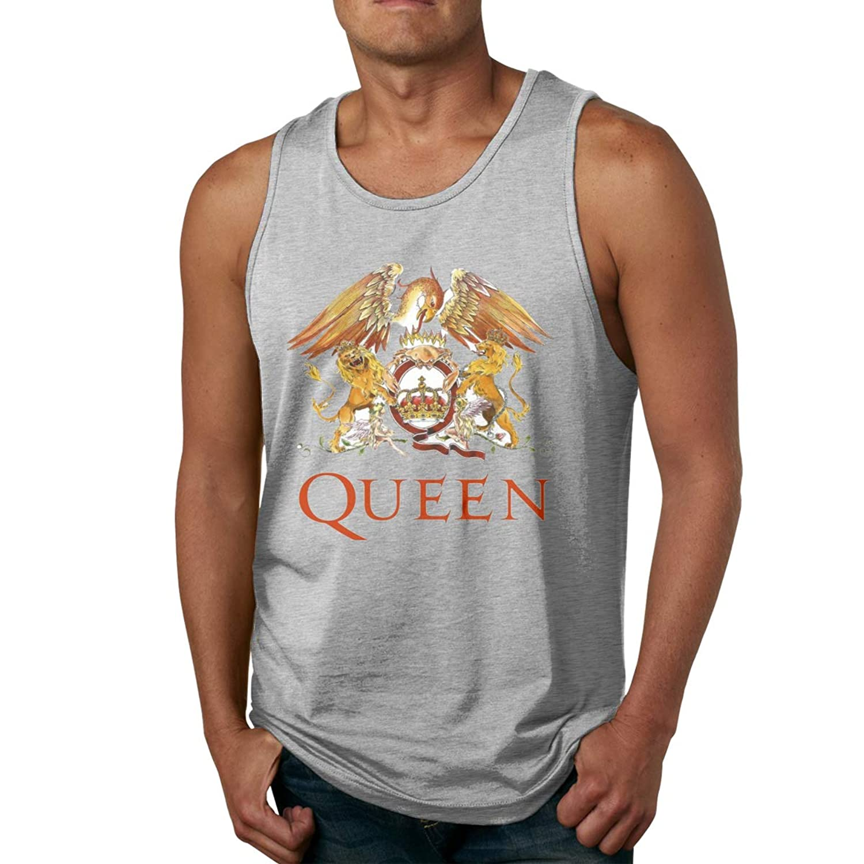 メンズ タンクトップ Queen サマースポーツとフィットネス トップス