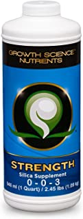 Growth Science Nutrients - Strength (0-0-3) : Silica Supplement (Quart)