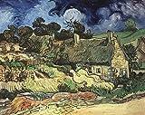 Pinturas famosas cielo estrellado carteles de Van Gogh y cuadros...