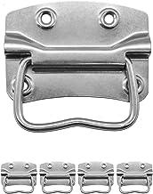 FUXXER® - 4x metalen handgrepen, ijzeren handgrepen voor kisten, kisten, koffers, racks inklapbaar (90 x 65 mm)