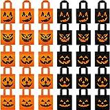30 Bolsas de Dulces no Tejidas de Halloween Bolsas de Calabaza Bolsas de Regalo de Truco o Trato...