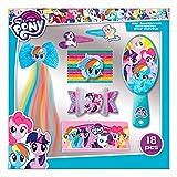 LITTLE PONY Set Accesorios Pelo 18 Piezas De My Little Pony 400 gr