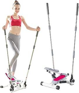 Wasai(ワサイ) ハンドル付き ステッパー 健康ステッパー SC70 ミニステッパー ダイエットマシーン ダイエット器具 ダイエットマシン ウォーキングマシン シェイプアップ コンパクト リハビリ山登り感覚 お腹くびれウエストへの有酸素運動 昇降運動