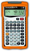 $55 » Calculated Industries 4065 Construction Master Pro Advanced Construction Math Feet-inch-Fraction Calculator & Johnson Leve...
