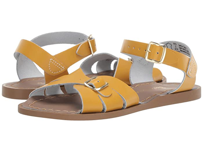 Salt Water Sandal by Hoy Shoes  Classic (Little Kid) (Mustard) Girls Shoes