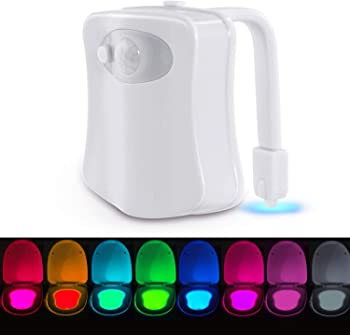 melysUS 8 Colors Changing Motion Sensor LED Night Lights