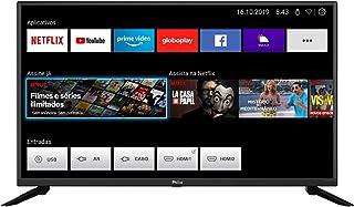 Smart TV, PTV39G60S LED, 39'' Polegadas, Processador Quad Core GPU Triple Core HDR, Conexão Wi-fi, Com 2 entradas HDMI 1 U...