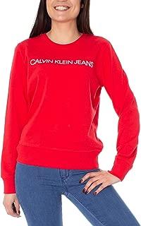 Calvin Klein Jeans Women's Institutional Logo Regular Fit Crew Neck