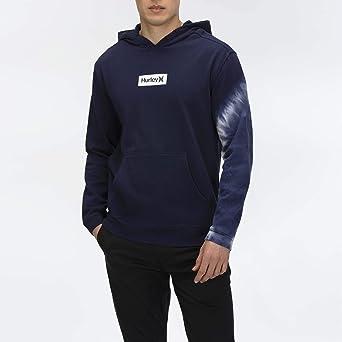 Hurley Men's M Dip Dye Po Fleece Sweatshirt