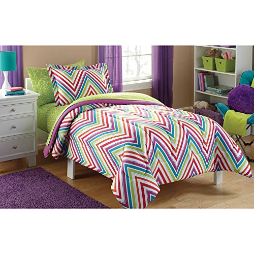Mainstay Chevron Coordinated Bedding Set, Kids'