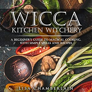 Wicca Kitchen Witchery audiobook cover art
