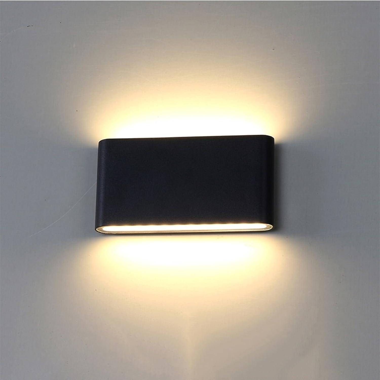 QQB Auenleuchte Wandleuchte Schlafzimmer Nachttischlampe Wandleuchte LED Einfache Outdoor Wasserdichte Wandleuchte Weie Wandleuchte (Farbe   B)