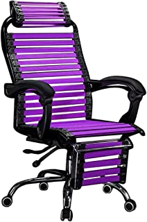 Office chairs ergonomic computer chair for home? Headrest with a high back chair legs can rotate, height adjustable from 4...